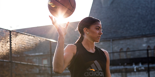 Unleash Your Creativity Campaign - Candace Parker for adidas