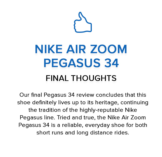 sale retailer 3d7b3 c753e Nike Pegasus 34 Review: Should You Buy Nike Air Zoom Pegasus 34?