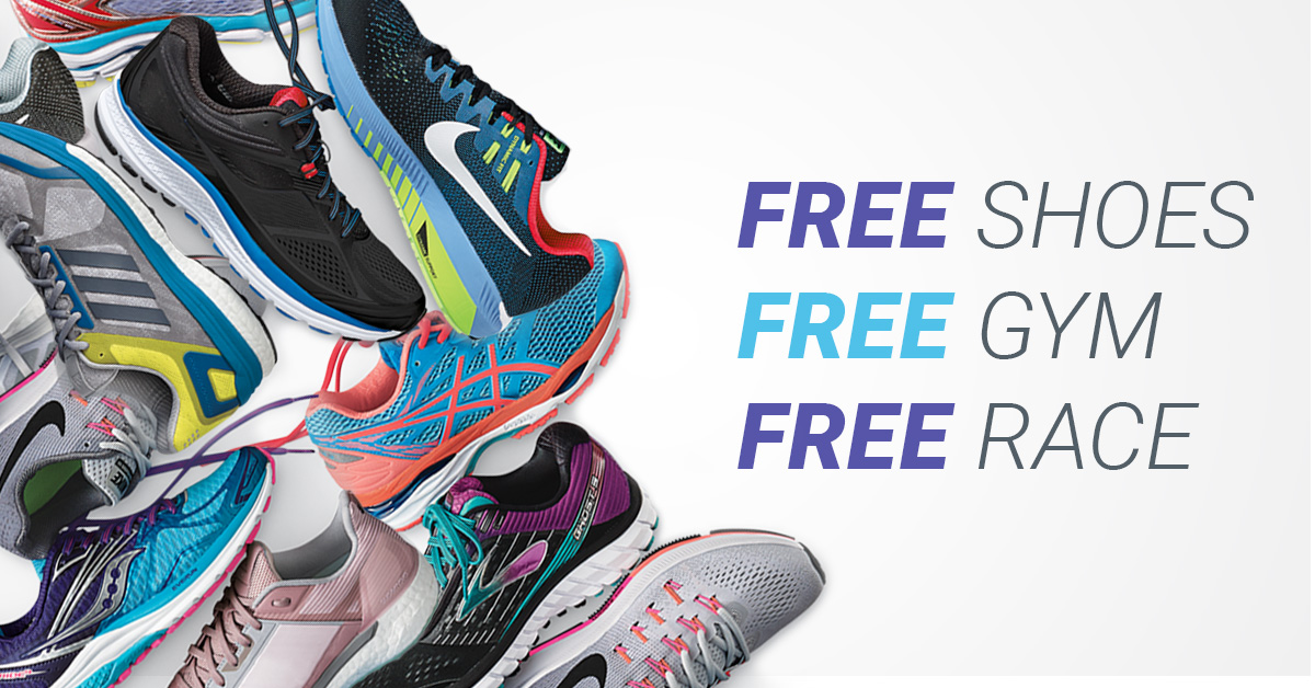 Ultimate Run Sweepstakes: Enter to Win Free Shoes, a Gym