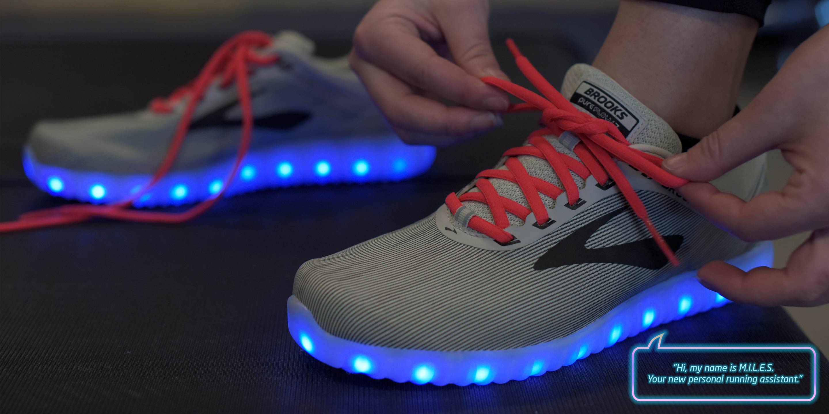 f3e8e2c8d32 Brooks Expertly Owns April Fools  with  Release  of Voice-Enabled Running  Shoe