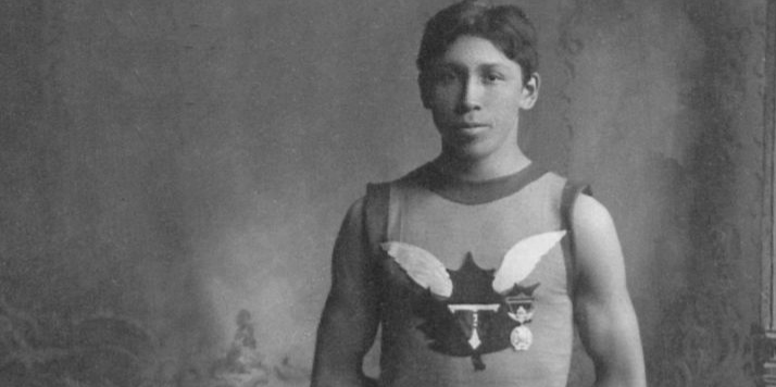 Tom Longboat Distance Runner