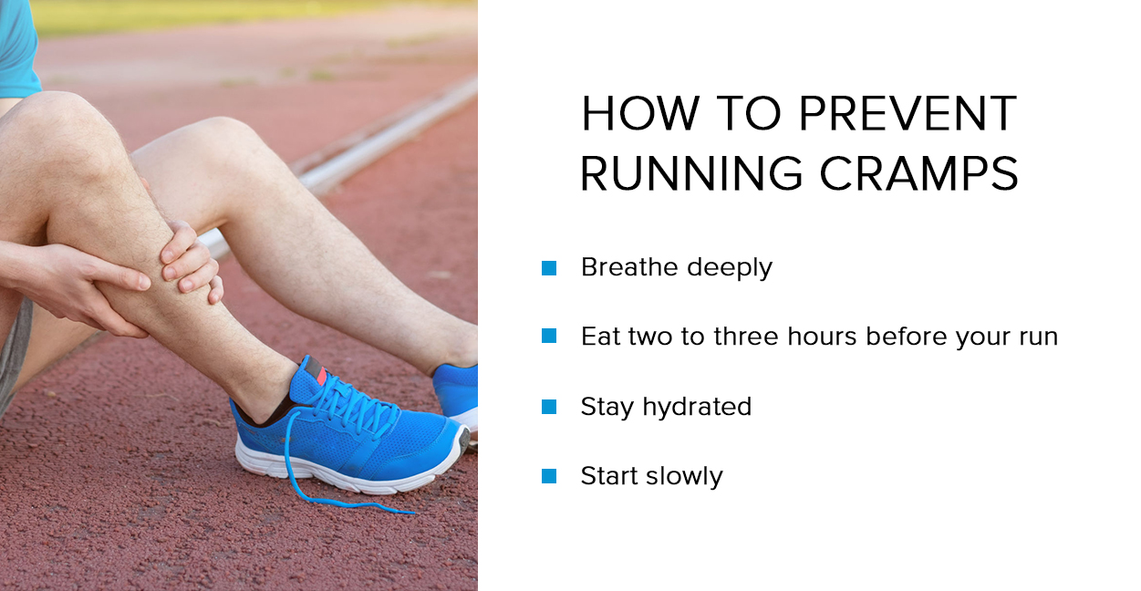 what causes cramps in side while running