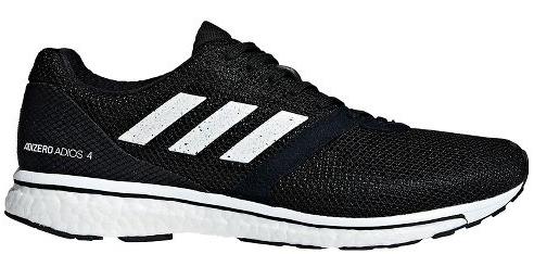 release date: b5dff 7b611 Mens adidas Adizero Adios 4 in BlackWhite