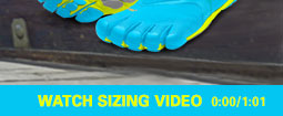 Vibram Sizing Video