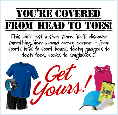 You're Covered from Head to Toes