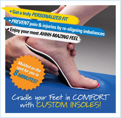 Get Your Custom Insoles in 8 minutes