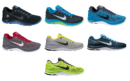 finest selection 90d06 b6c31 Men´s Lunarglide+ 5 Colors