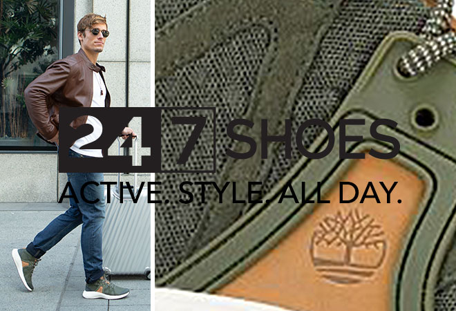 Men's 24.7 Shoes. Active. Style. All Day.