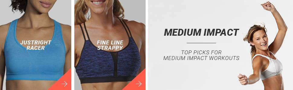 Medium Impact Bras - Here are your top picks!