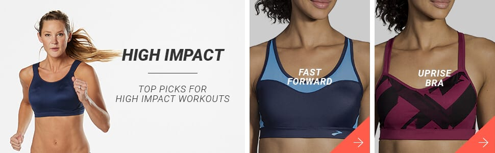 High Impact Bras - Here are your top picks!