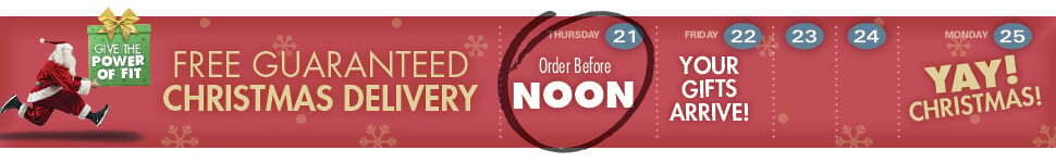 Guaranteed Delivery Before Christmas If You Order Before Noon on December 21st!