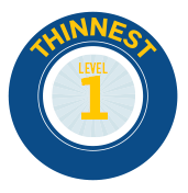 Level 1 - Thinnest Cushion