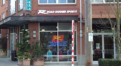 Seattle Roadrunner Sports Storefront