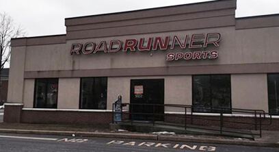 Shrewsbury Roadrunner Sports Storefront