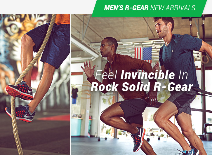 Feel Invincible In Rock Solid R-Gear