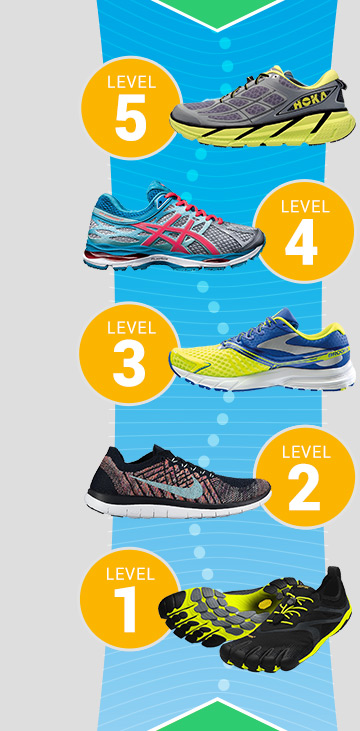 running shoes with lots of cushion