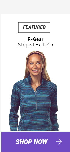 R-Gear Striped Half-Zip