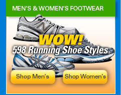 Mens and womens footwear
