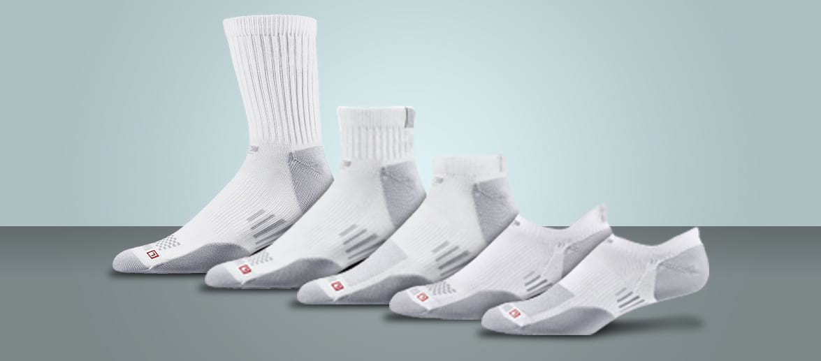 edad75c73aca And No Show socks give you targeted blister‑protection from heel to toe in  super‑low style.
