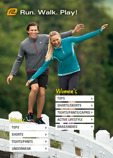 Road Runner Sports Men's + Women's Apparel