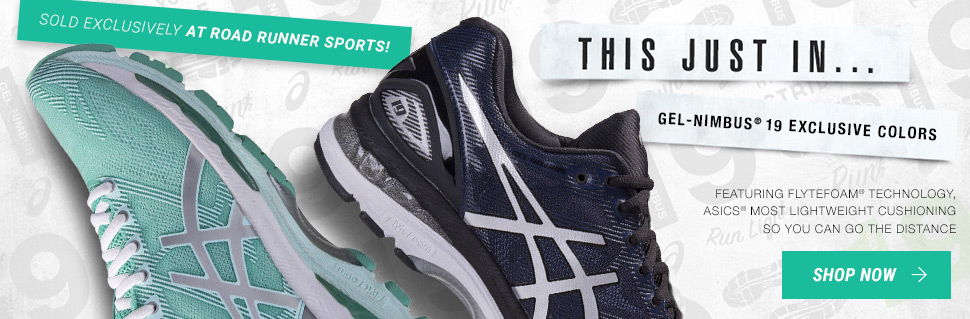 Men's & Women's ASICS GEL-Nimbus 19 - RRS Exclusive Colors!