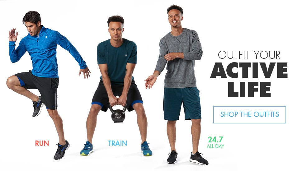 Outfit Your Active Life - Shop The Outfits