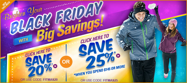 Black Friday Savings