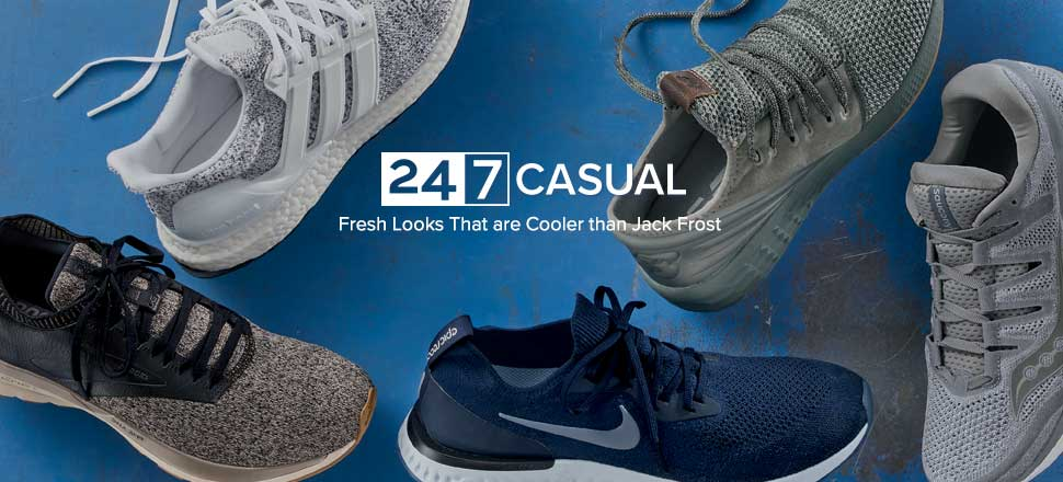 24.7 Casual Shoes - Fresh Looks That are Cooler than Jack Frost