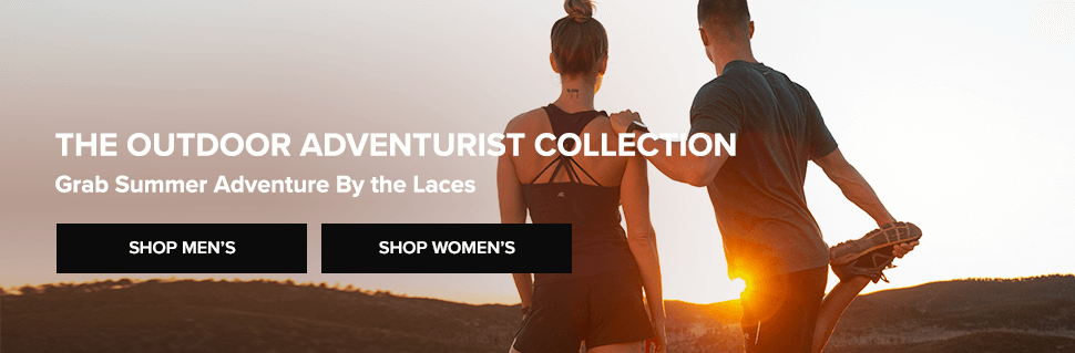 outdoor adventurist collection: shop mens + womens